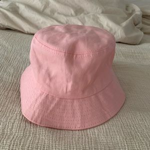 PINK BUCKET HAT FROM PLT *add on item*